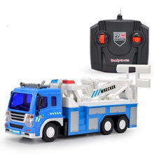 Load image into Gallery viewer, 1:16 Remote Control Car 4 Channels Sanitation Car Garbage Truck With Front Lamp Model New Car Toy Car Christmas Gift