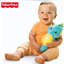 Load image into Gallery viewer, Original Fisher Price Baby Musical Babytoys 0-12months Seahorse Appease Educational Toys Hippocampus Plush Peluche Doll