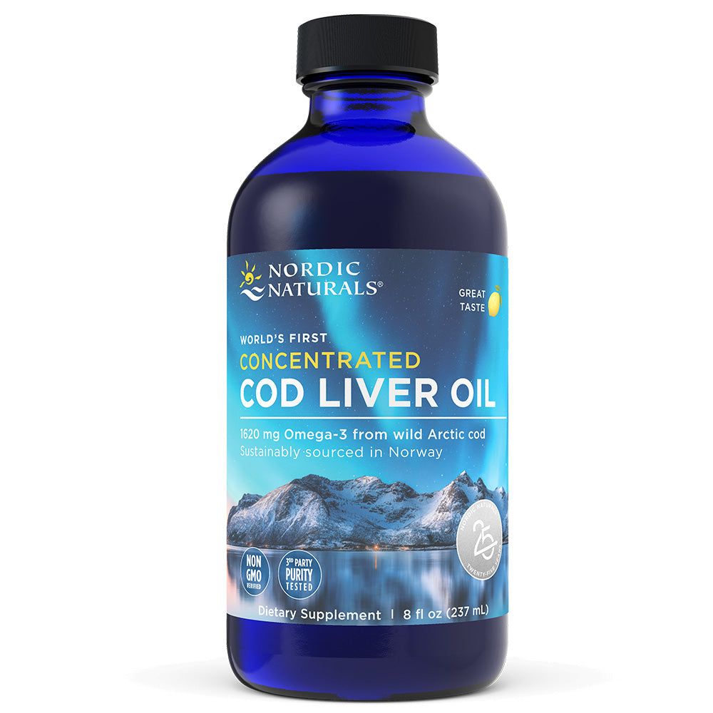 Product Image Concentrated Cod Liver Oil