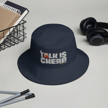 Load image into Gallery viewer, CHEAP TALK Bucket Hat (Navy)