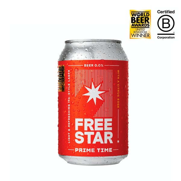 Freestar Alcohol Free Beer (330ml)