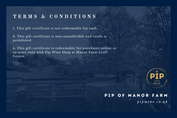 Pip Wine Shop Gift Card