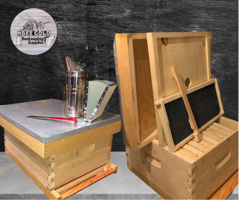 Assembled Beehive Kit NBee Gold Moncton