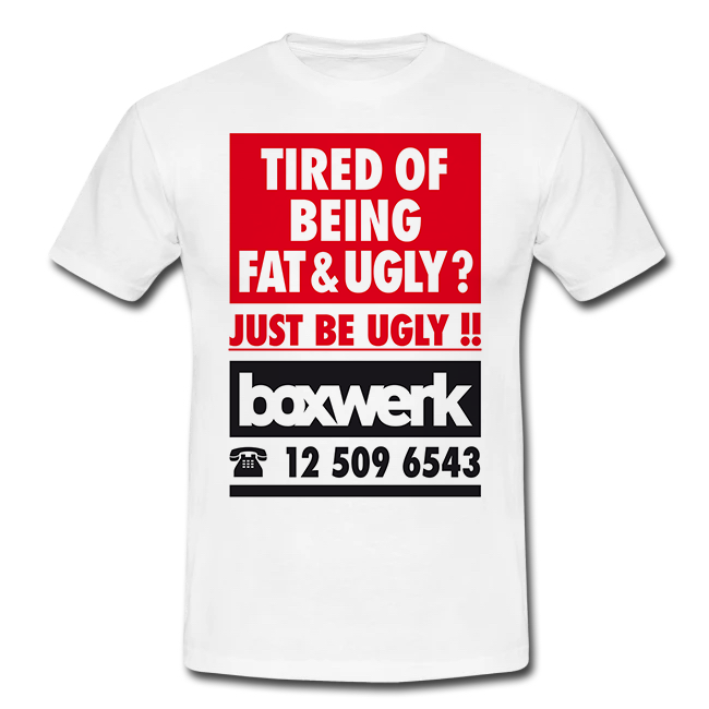 T-Shirt FAT & UGLY (Damen)
