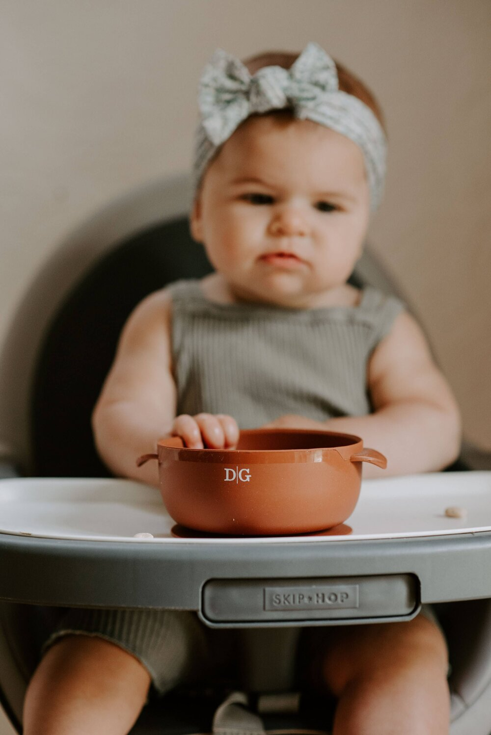 Baby Suction Bowl- Ginger
