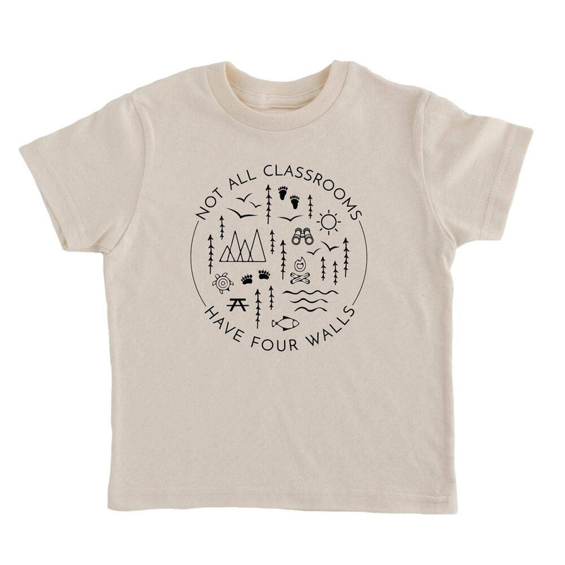 Not All Classrooms Have Four Walls Tee - Cream