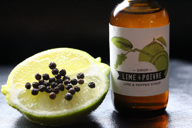 Sirop lime & poire