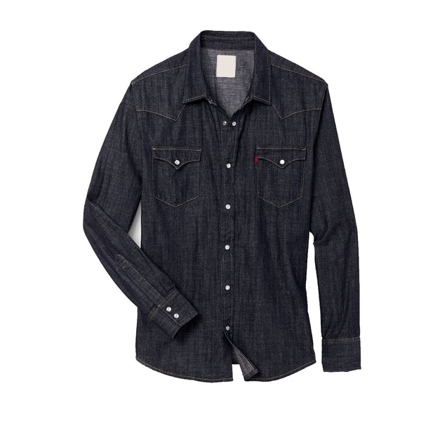 Pack Of Three Slim Fit Washed Denim Casual Shirt