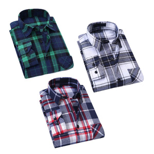 Solid Shirts For Men Combo of 3