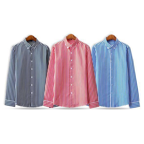 Combo Of 3 Striped Printed Shirts for Men