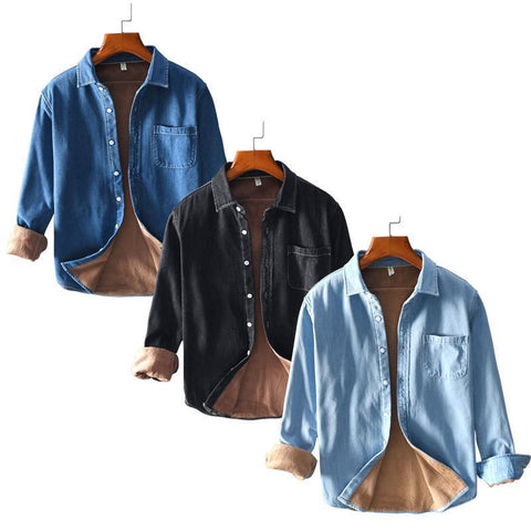 Combo of 03 Warm Casual Jacket Shirts