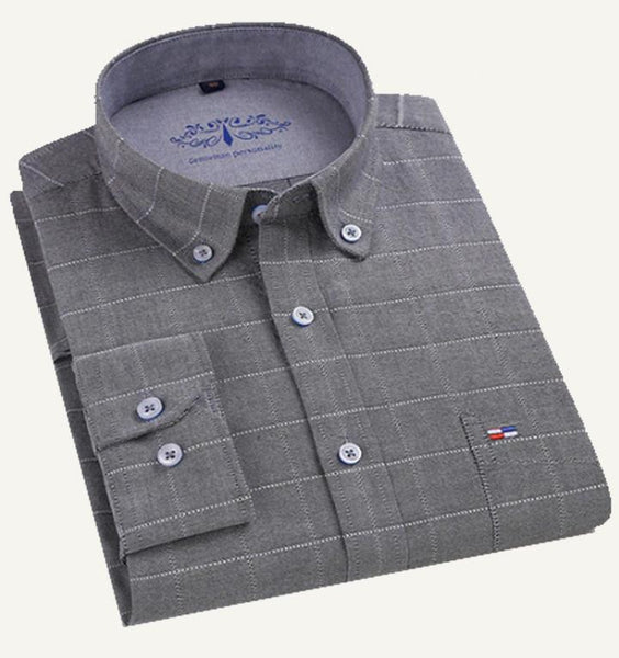 Combo of 3 Premium Slim Fit Cotton Fabric Check Shirts For Men (TS01)
