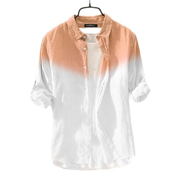 Combo Of Premium Gradient Button Chic High Street Men Casual Shirts (TS08)