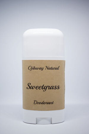 Load image into Gallery viewer, Deodorant. Sweet Grass. Natural Products. Ojibway Natural. Eau de Toilette