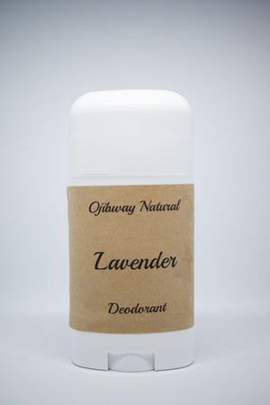 Load image into Gallery viewer, Deodorant. Lavender. Natural Products. Ojibway Natural. Eau de Toilette