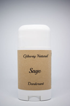 Load image into Gallery viewer, Deodorant. Sage. Natural Products. Ojibway Natural. Eau de Toilette