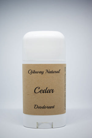 Load image into Gallery viewer, Deodorant. Cedar. Natural Products. Ojibway Natural. Eau de Toilette