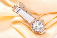 Load image into Gallery viewer, Luxury Brand Women Watches White Leather