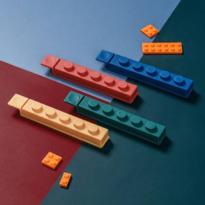 4pcs Storage Seal Set Lego Design