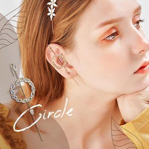 Ear Cuffs Crawler Hook Earrings for Women Gold Hypoallergenic Piercing