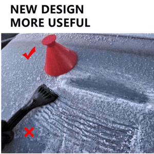 Flake Ice Scraper