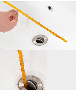 1pc Kitchen Sink Pipe Drain Dredging Tool