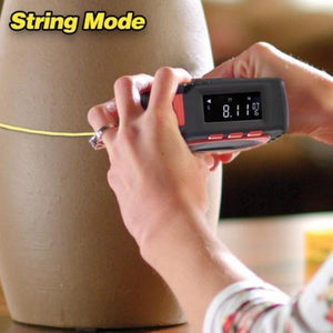 3-in-1 String and Laser Mode Digital Measuring Tape