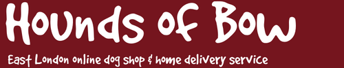 Hounds of Bow East London Dog Shop and Home Delivery Service
