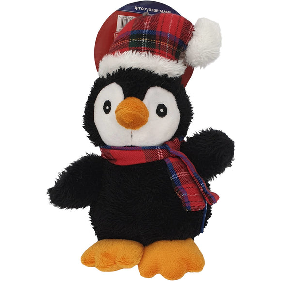 Ancol Cuddly Penguin Christmas Toy for Dogs