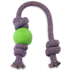 Beco Ball on Rope, Green