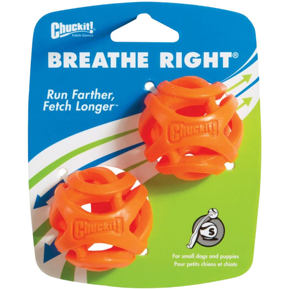 Chuckit Breathe Right® Ball 2 Pack Small