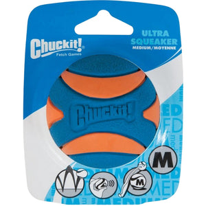 Chuckit® Ultra Squeaker Ball 1 Pack Medium