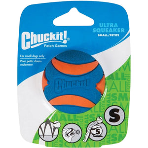 Chuckit® Ultra Squeaker Ball 1 Pack Small