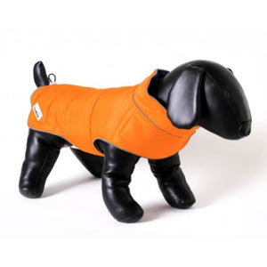 Doodlebone® Combi-Puffer Dog Jacket - Orange/Grey