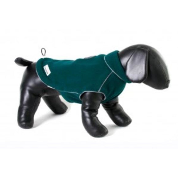 Doodlebone® Fleecy Dog Jacket Green
