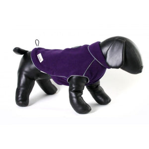 Doodlebone Fleecy Dog Jacket Purple