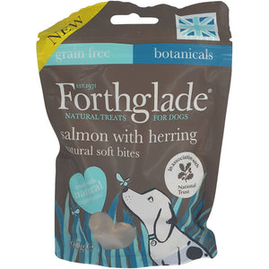 Forthglade Salmon with Herring Soft Bites 90g