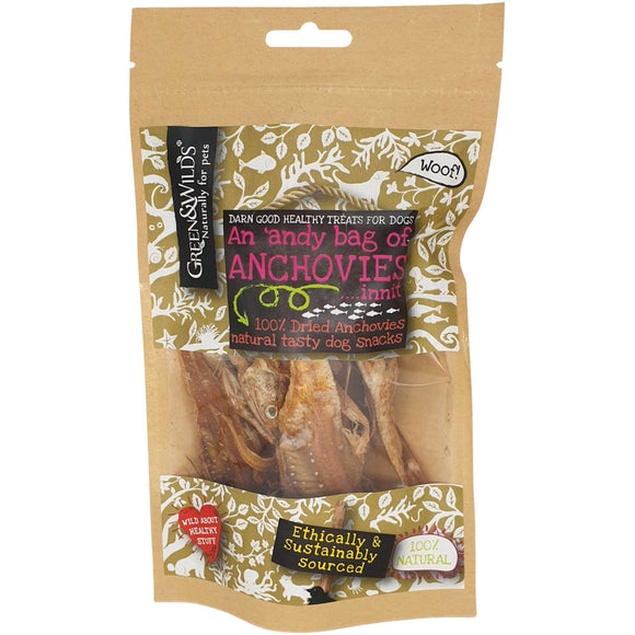 Green & Wilds Anchovies 50g