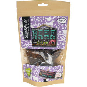 Green & Wilds Beef Hearties 140g