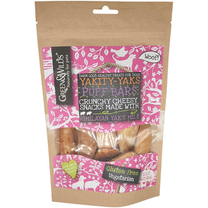 Green & Wilds Yakkity Yak Puff Bars 75g