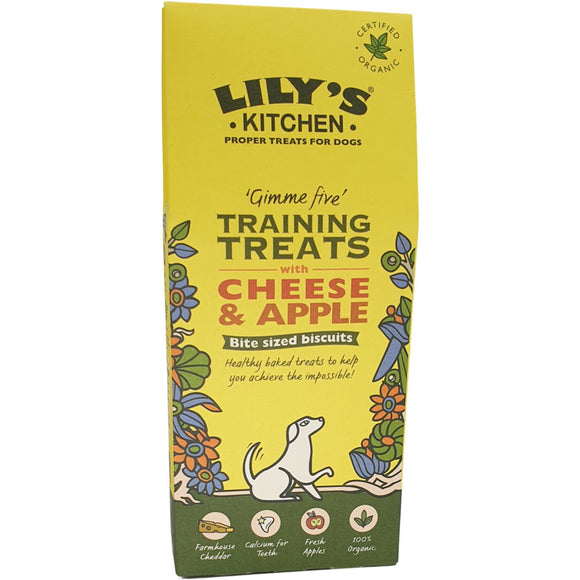 Lilys Kitchen Cheese And Apple Training Treats 100g
