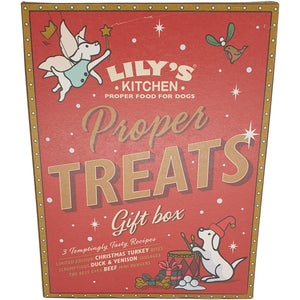 Lilys Kitchen Proper Treats Gift Box for Dogs 150g