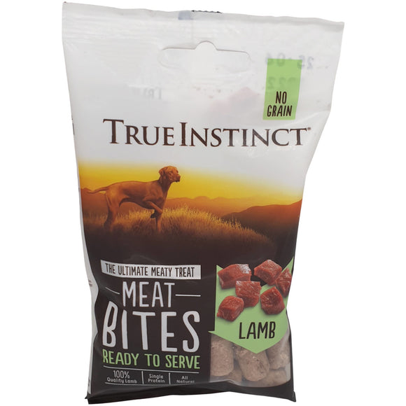 Natures Menu True Instinct Lamb Meat Bites 20g