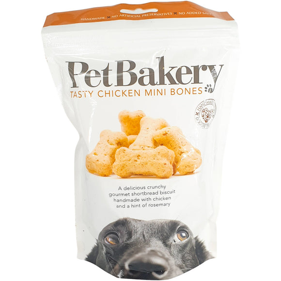 Pet Bakery Chicken Mini Bones 190g