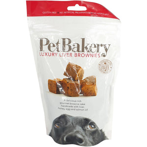 Pet Bakery Liver Brownies 190g