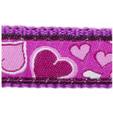 Red Dingo Design Dog Lead 1.2m Purple Breezy Love