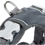 Red Dingo Padded Harness Grey