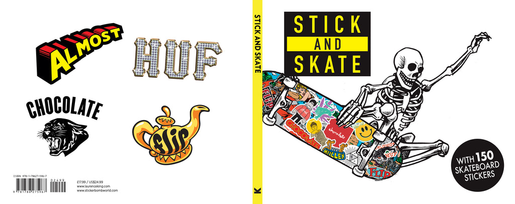 cover for our latest publication Stick and Skate