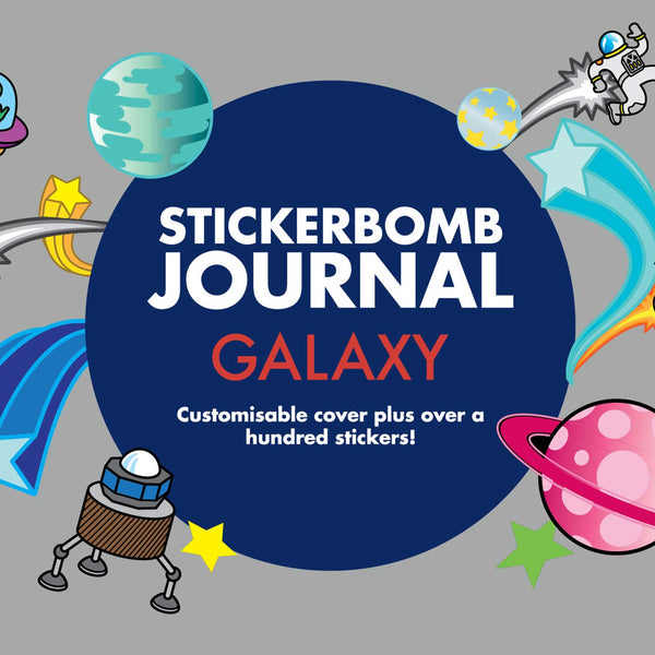 Stickerbomb Journal: Galaxy