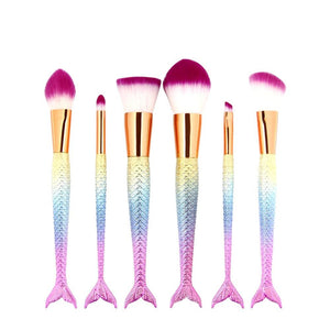MAKEUP BRUSHES Mermaid Melody - Southern Rae's